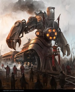Train Golem