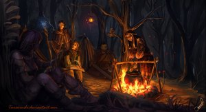 campfire_by_temarinde-d5uc9ox